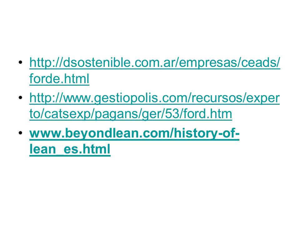 http://dsostenible.com.ar/empresas/ceads/ forde.htmlhttp://dsostenible.com.ar/empresas/ceads/ forde.html http://www.gestiopolis.com/recursos/exper to/