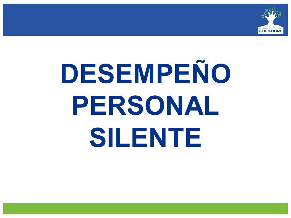 DESEMPEÑO PERSONAL SILENTE