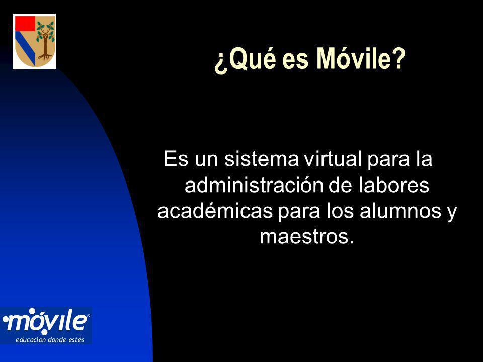 ¿Qué es Móvile.