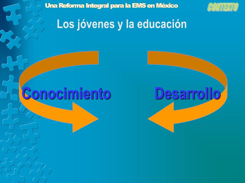 Los jóvenes y la educación ConocimientoDesarrollo