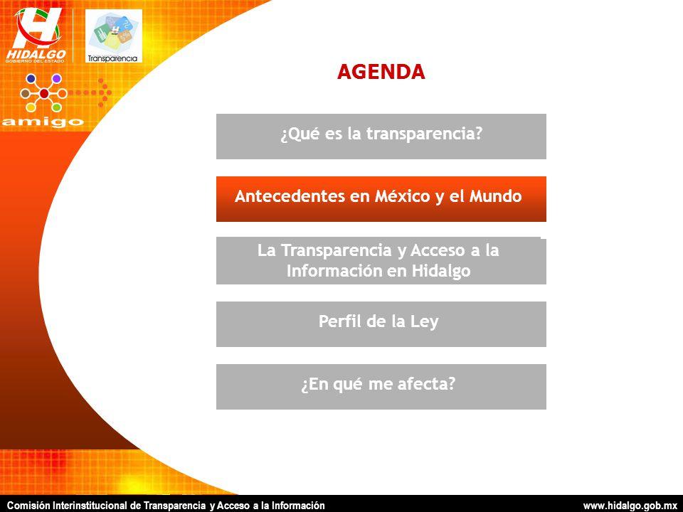 Comisión Interinstitucional de Transparencia y Acceso a la Información www.hidalgo.gob.mx ACCIONES INMEDIATAS Mesas Temáticas