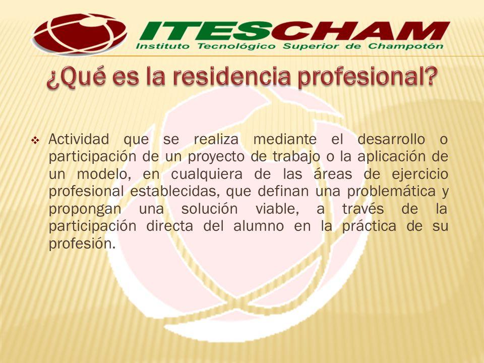 La asignación de proyectos de residencias profesionales para los candidatos a residentes, la realizará el Jefe de la División de Estudios Profesionales, a través de las Coordinaciones de Carrera, antes de iniciar el siguiente periodo escolar.