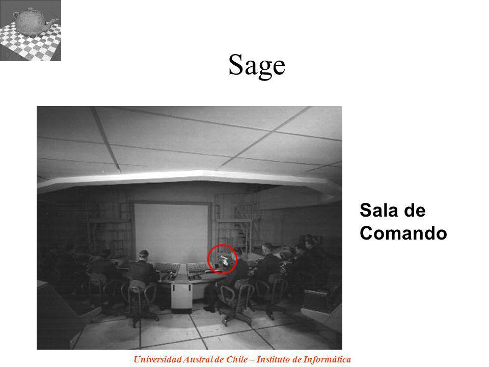 Universidad Austral de Chile – Instituto de Informática Sage Sala de Comando