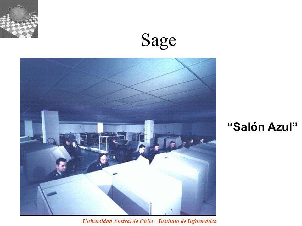 Universidad Austral de Chile – Instituto de Informática Sage Salón Azul