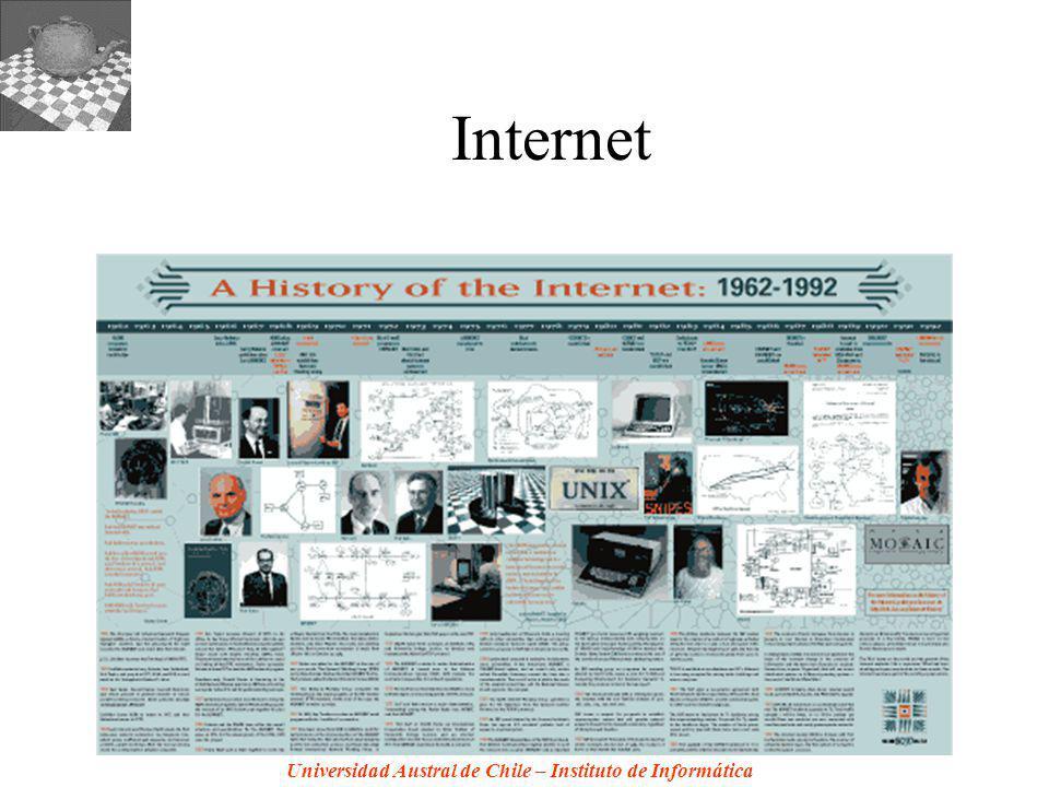 Universidad Austral de Chile – Instituto de Informática Internet