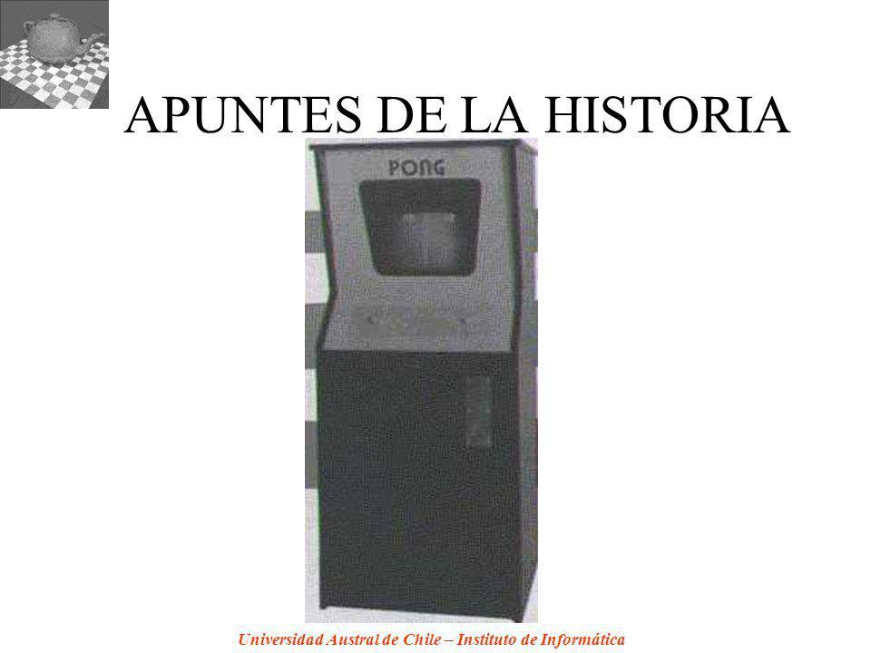 Universidad Austral de Chile – Instituto de Informática APUNTES DE LA HISTORIA