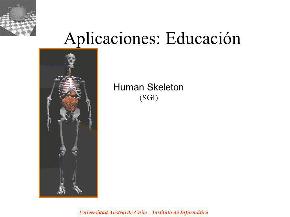 Universidad Austral de Chile – Instituto de Informática Aplicaciones: Educación Human Skeleton (SGI)