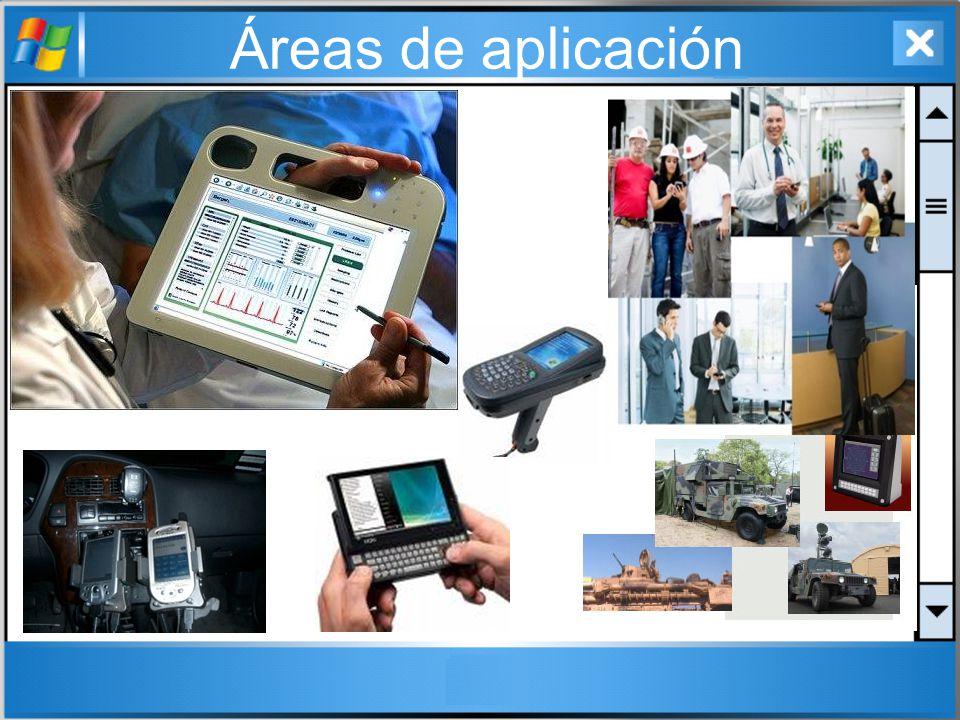 Áreas de aplicación