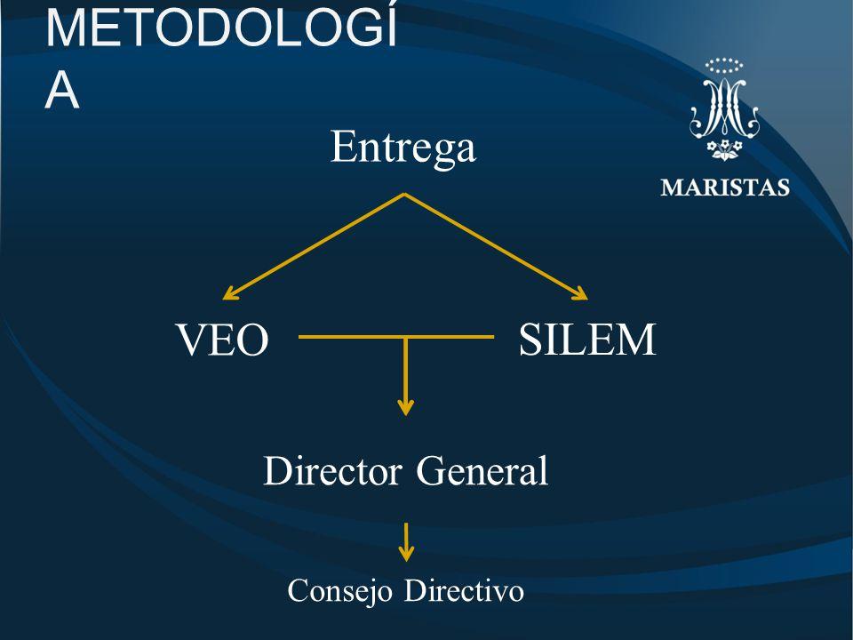 METODOLOGÍ A Director General VEO Entrega SILEM Consejo Directivo