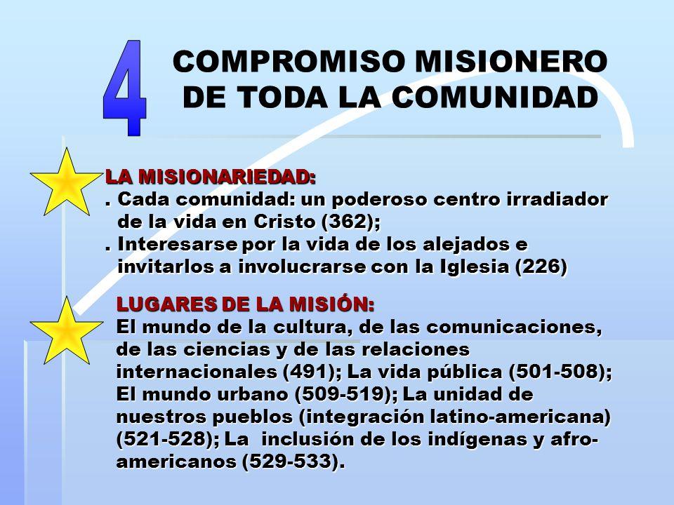 LA MISIONARIEDAD:.