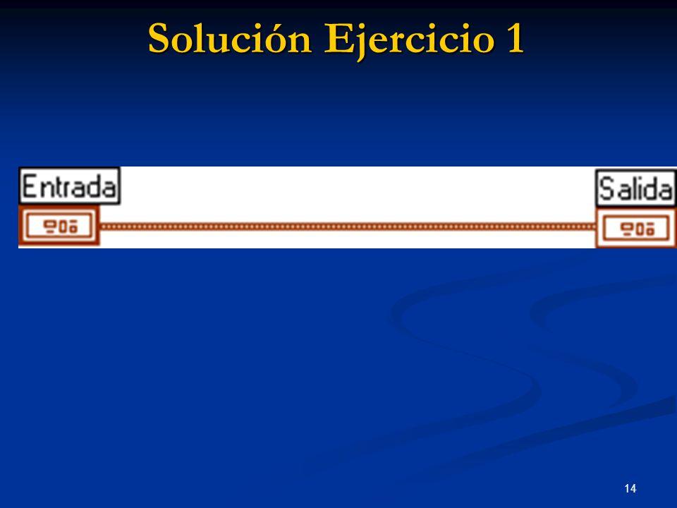 14 Solución Ejercicio 1