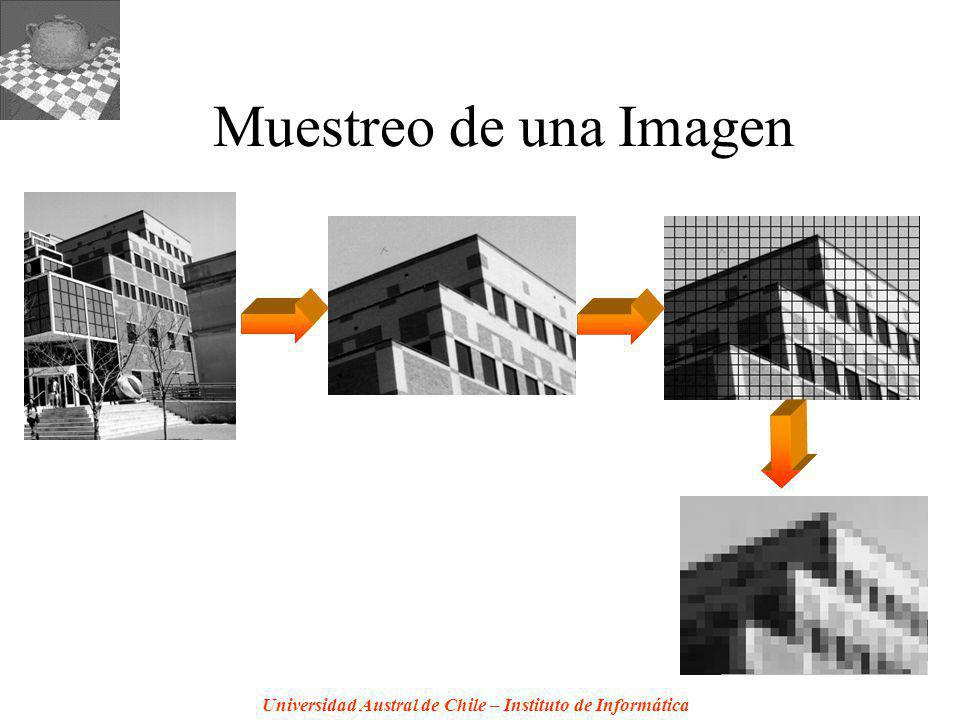 Universidad Austral de Chile – Instituto de Informática Muestreo de una Imagen