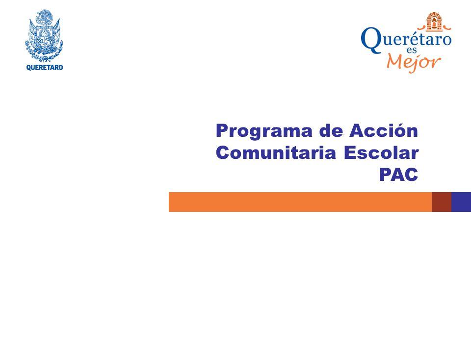 Programa de Acción Comunitaria Escolar PAC