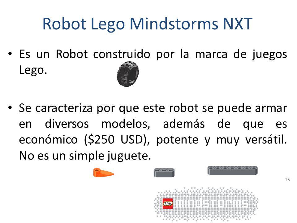 Ejemplos de Robots Sony AIBO