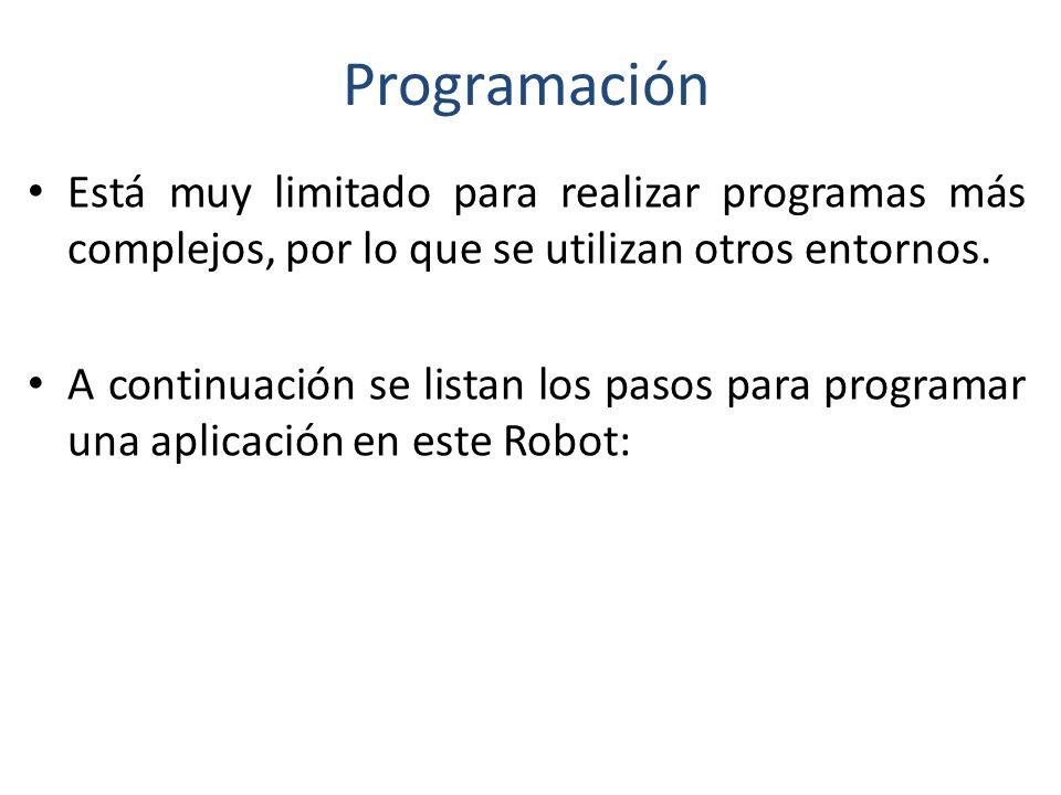 Programación Basado en un ambiente gráfico de desarrollado (programación en bloques) desarrollado por National Instruments los desarrolladores de LabV