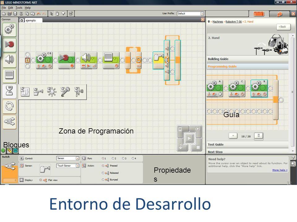 Entorno de Desarrollo 31 Construcción Programación Ejecución