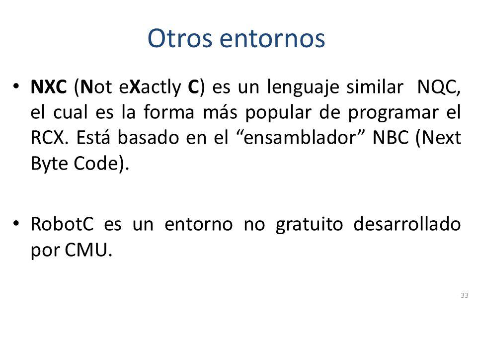 Entorno de Desarrollo 32 Propiedade s Zona de Programación Bloques Guía