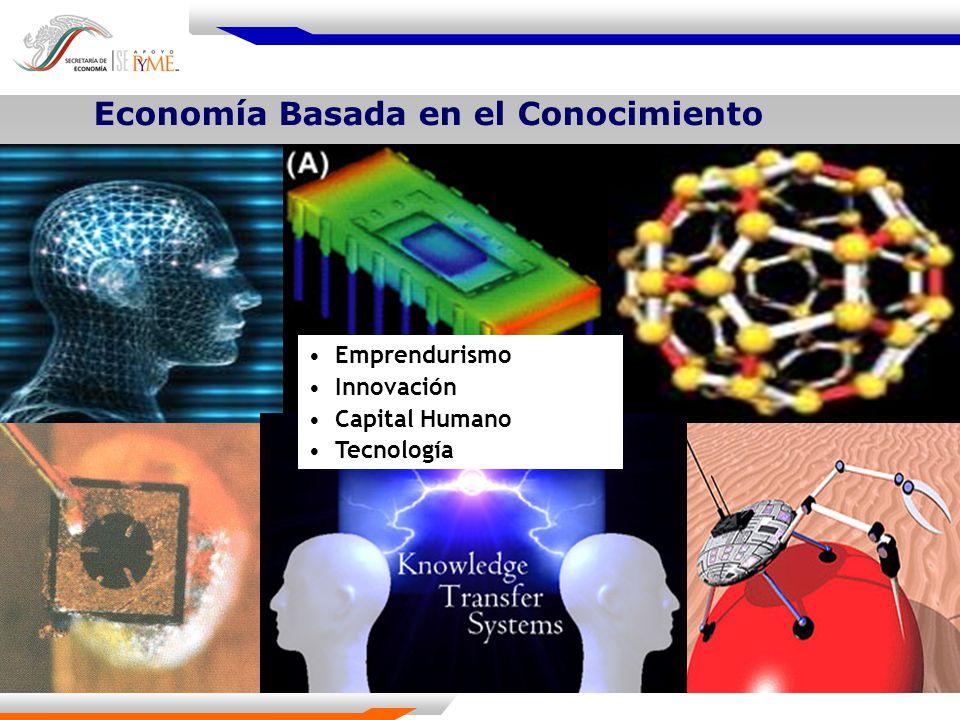 Monto de apoyo Fondo PYME Total $384.6 Millones de pesos Incubadoras (tipo) Número Tradicionales63 Tecnología Intermedia124 Alta Tecnología9 Total196 Fuente: Subsecretaría para la Pequeña y Mediana Empresa.