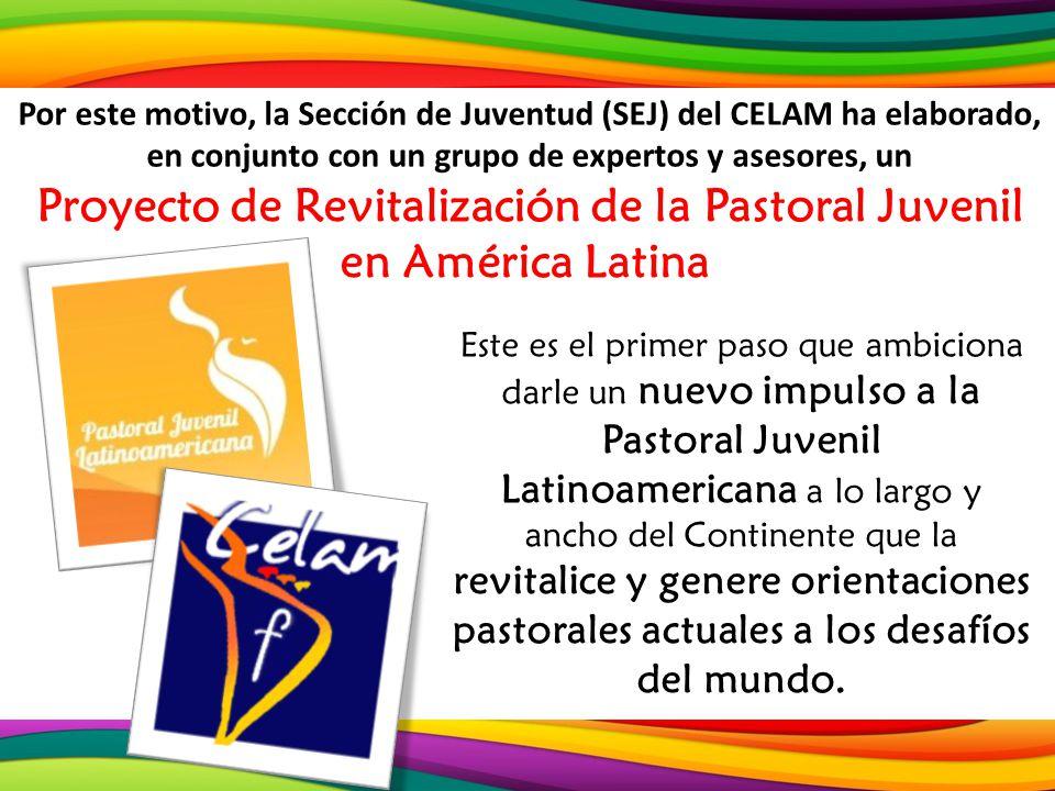 Este es el primer paso que ambiciona darle un nuevo impulso a la Pastoral Juvenil Latinoamericana a lo largo y ancho del Continente que la revitalice