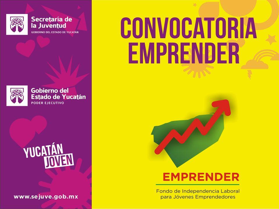 OBJETIVO: Fomentar el empleo y autoempleo, mediante el otorgamiento de recursos económicos a jóvenes emprendedores que presenten un proyecto productivo, con la finalidad de concretar las ideas en negocios o empresas reales.