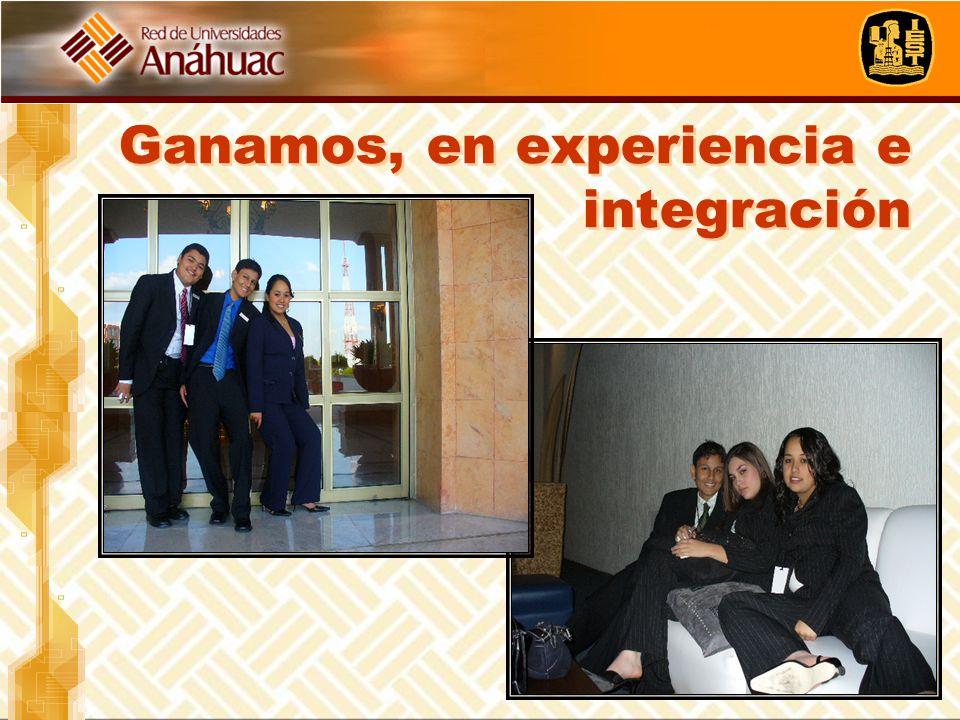 Ganamos, en experiencia e integración