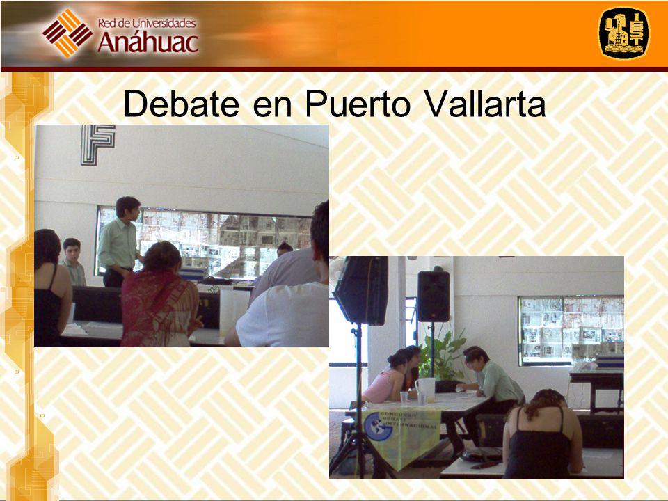 Debate en Puerto Vallarta