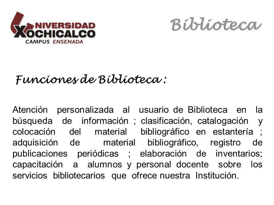 Biblioteca Estadística OVID.