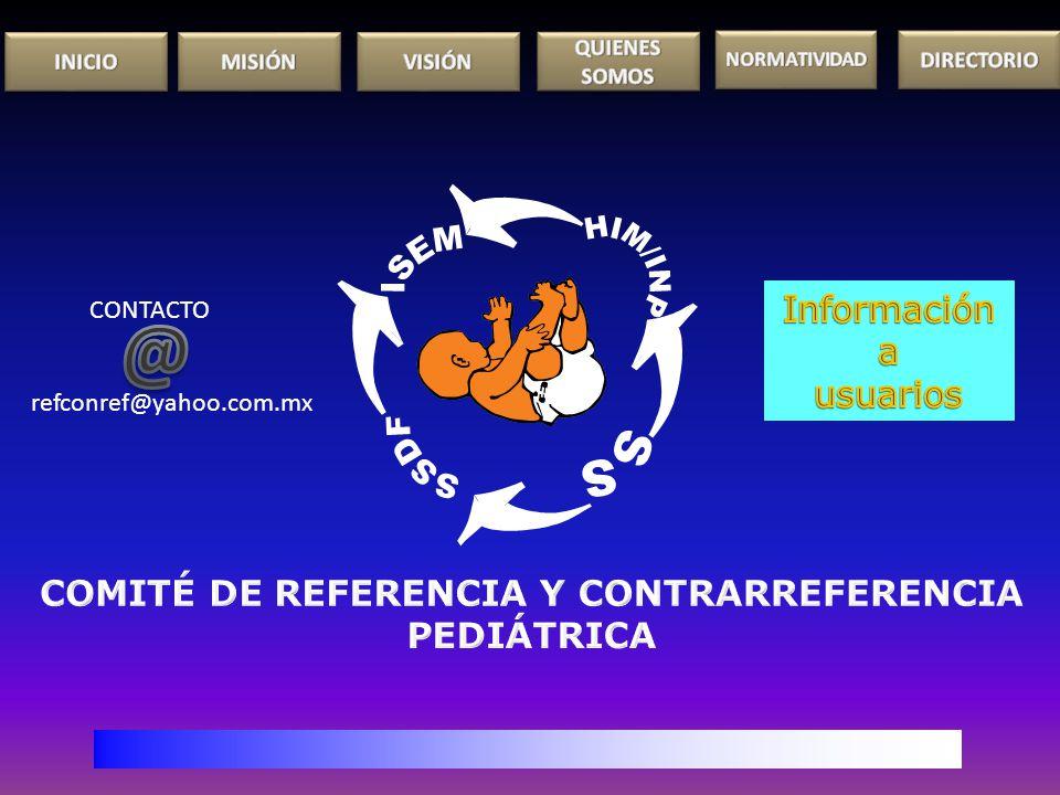 CONTACTO refconref@yahoo.com.mx
