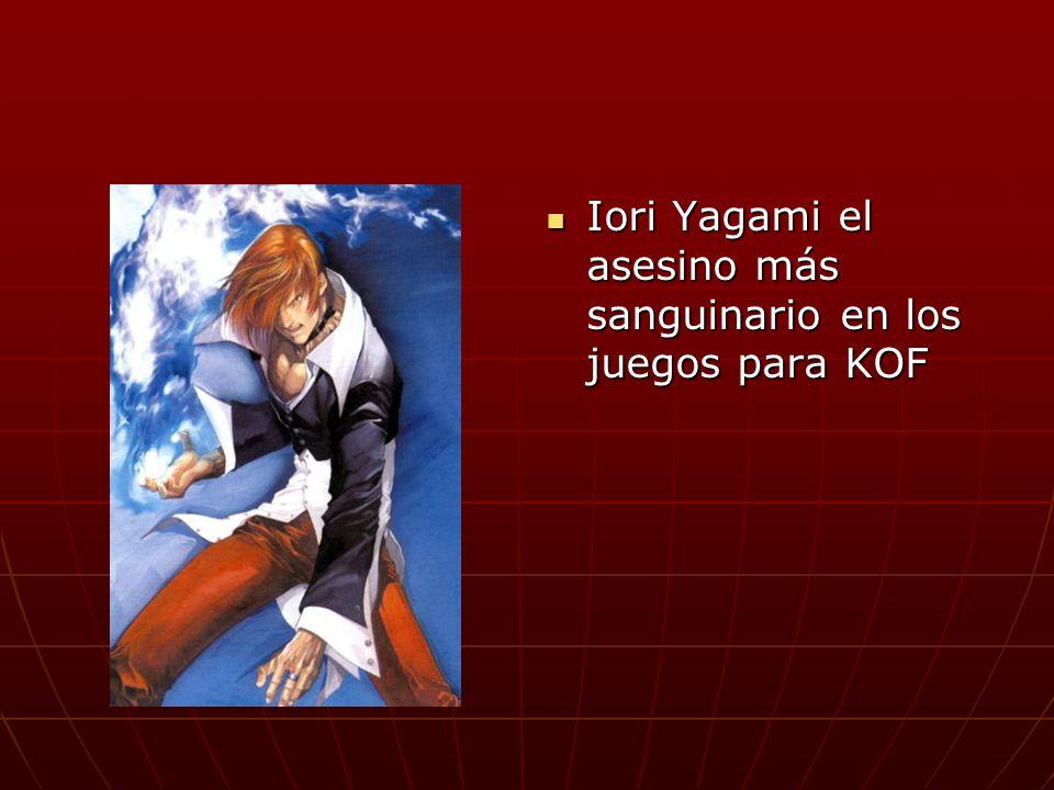 Iori Yagami el asesino más sanguinario en los juegos para KOF Iori Yagami el asesino más sanguinario en los juegos para KOF