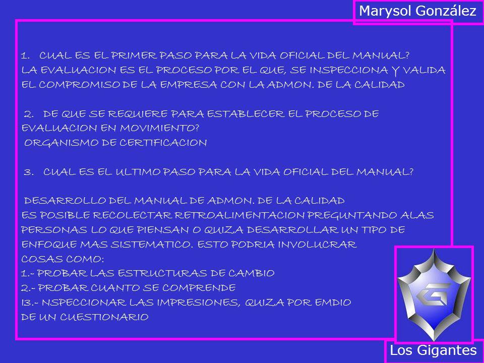 1.CUAL ES EL PRIMER PASO PARA LA VIDA OFICIAL DEL MANUAL.