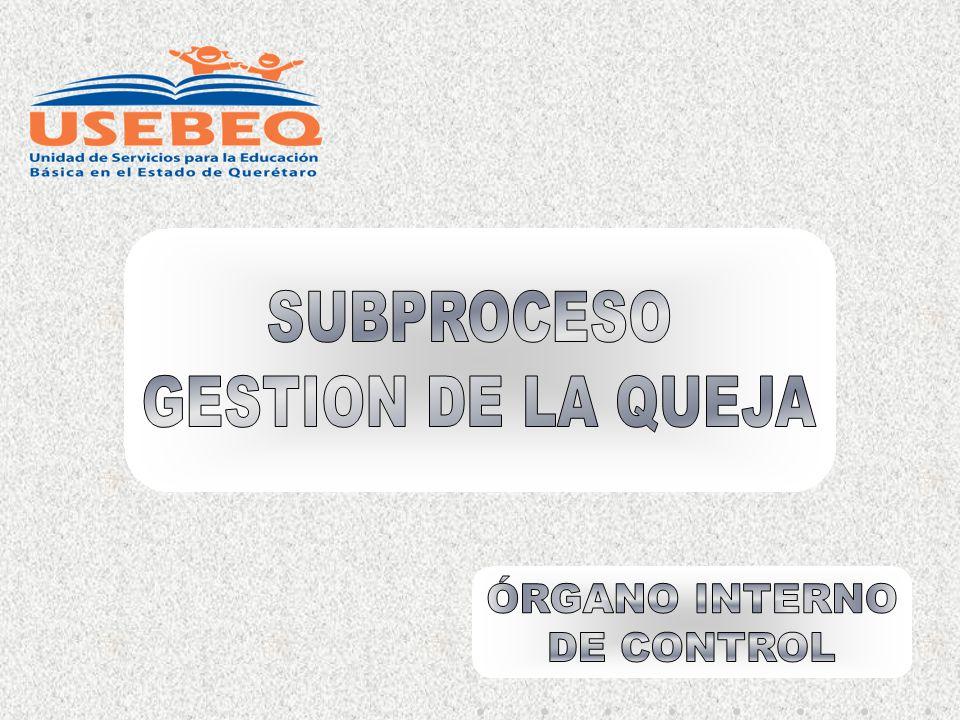 SISTEMA DE GESTIÓN DE LA CALIDAD OBJETIVOS E INDICADORES DE CALIDAD DEL PROCESO DE CONTRALORÍA INTERNA