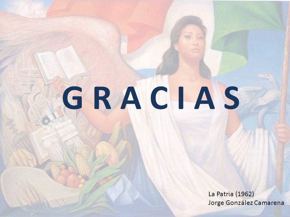 G R A C I A S La Patria (1962) Jorge González Camarena