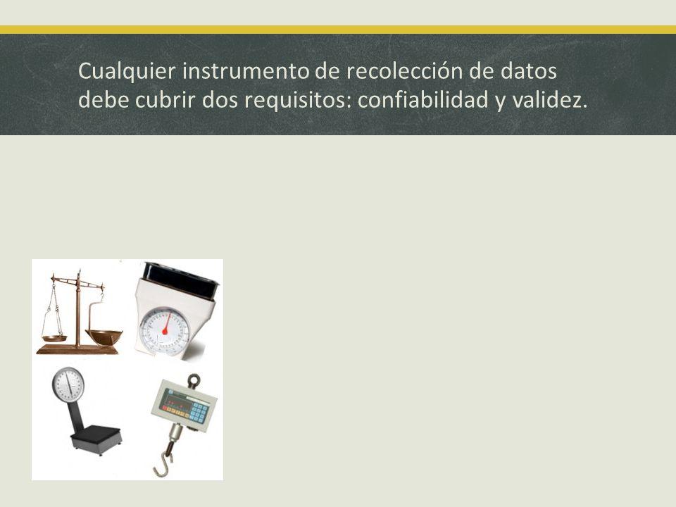 Fases de construcción de un instrumento: 1.Redefiniciones fundamentales.