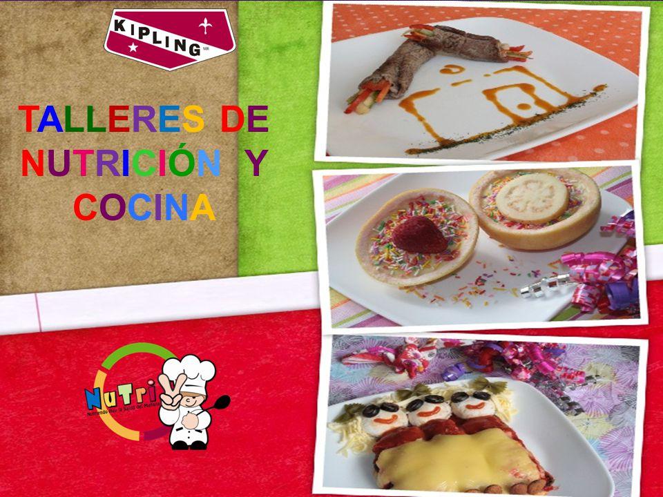 TALLERES DE NUTRICIÓN Y COCINA