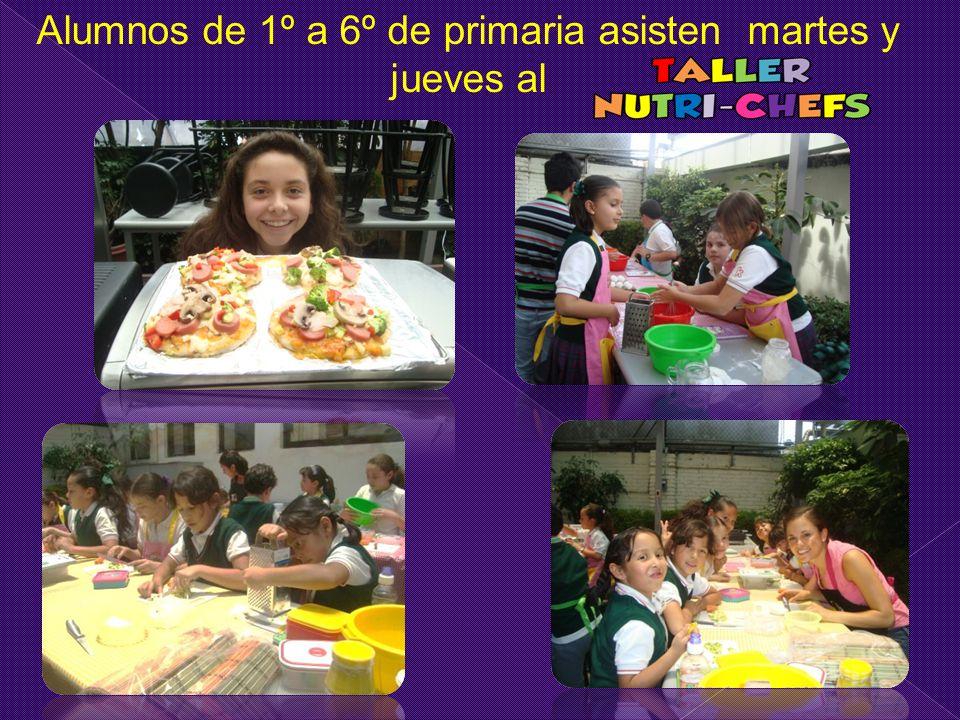 Alumnos de 1º a 6º de primaria asisten martes y jueves al