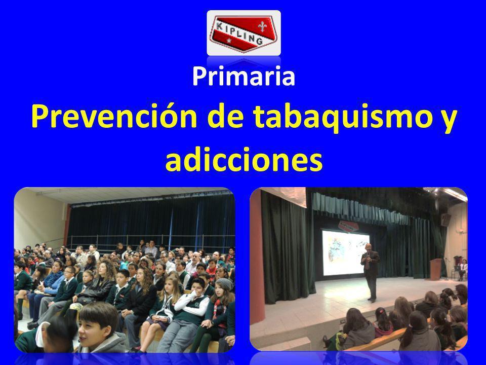 Primaria Prevención de tabaquismo y adicciones