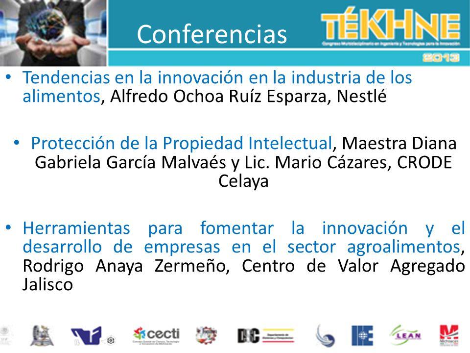 Conferencias Tendencias en la innovación en la industria de los alimentos, Alfredo Ochoa Ruíz Esparza, Nestlé Protección de la Propiedad Intelectual,