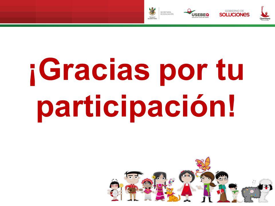 ¡Gracias por tu participación!