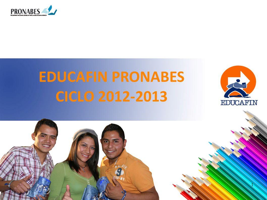 EDUCAFIN PRONABES CICLO 2012-2013 1