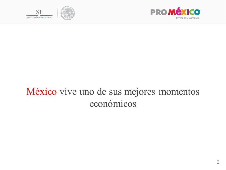 México vive uno de sus mejores momentos económicos 2
