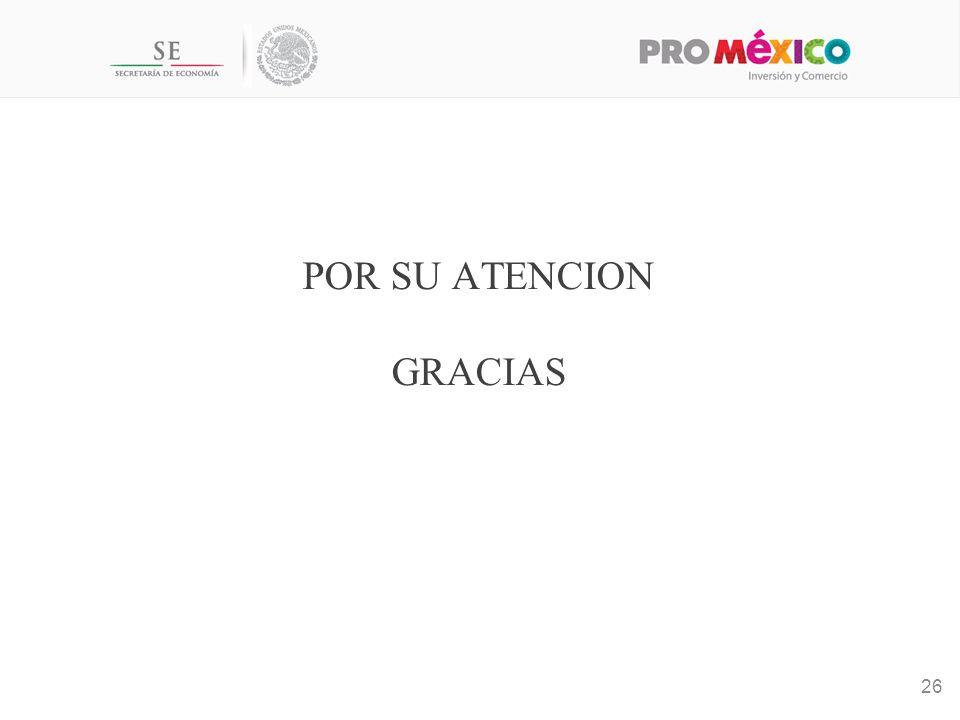 POR SU ATENCION GRACIAS 26
