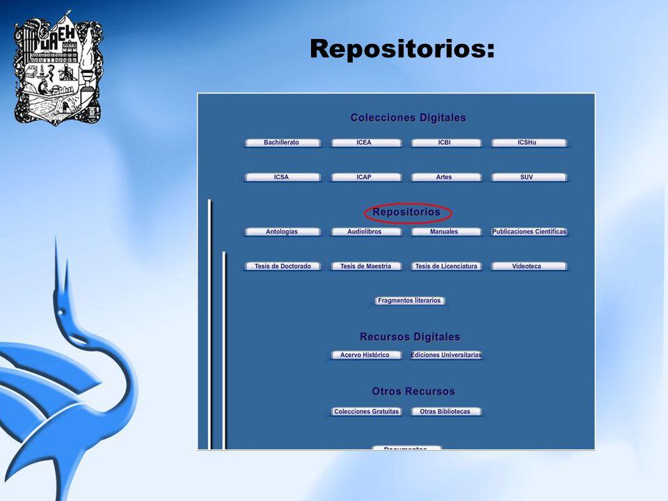 Repositorios: