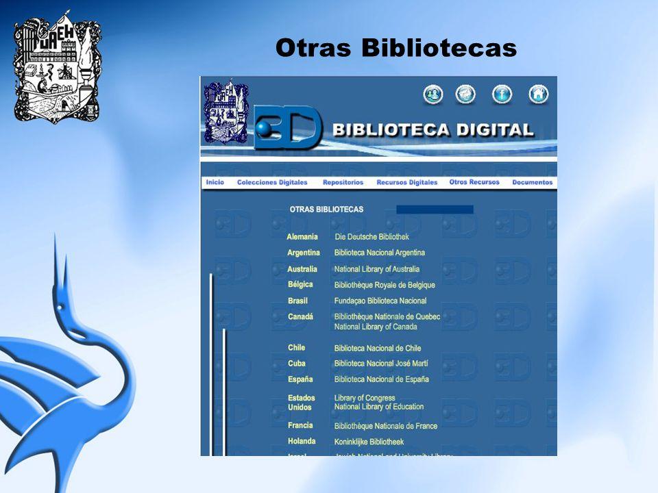 Otras Bibliotecas