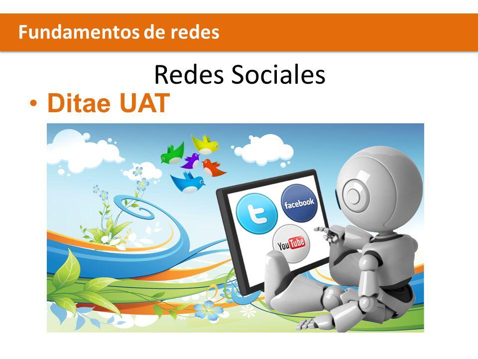 Redes Sociales Ditae UAT Fundamentos de redes