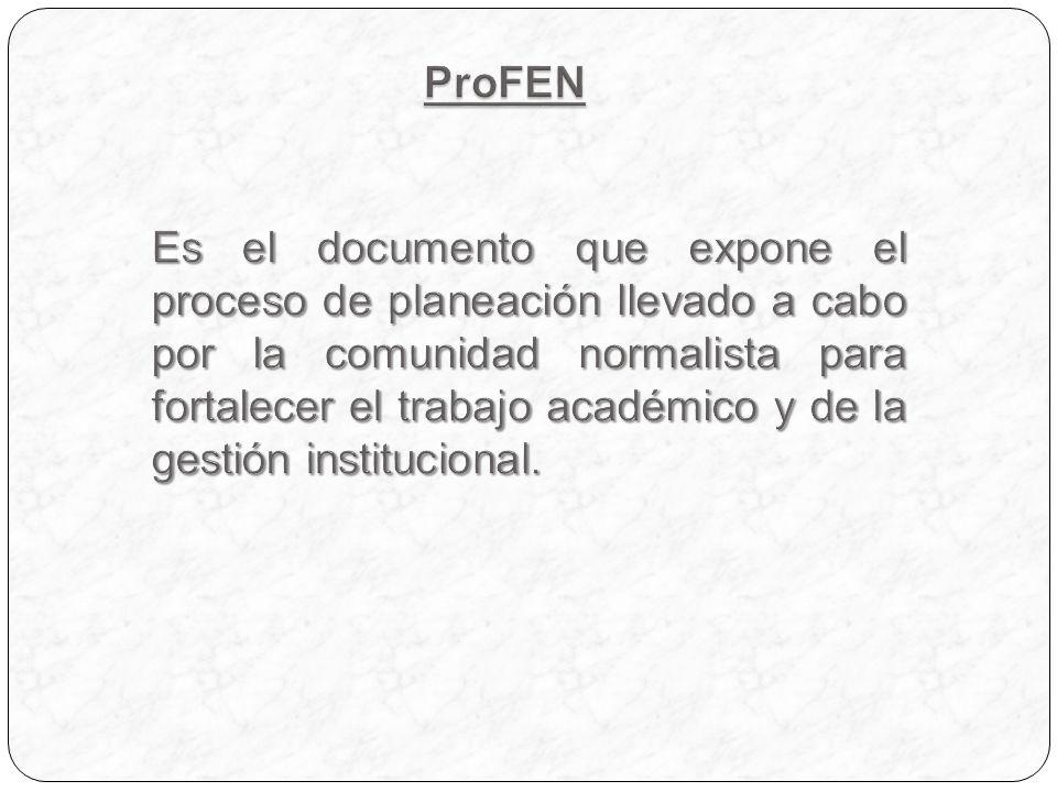 P ROYECTO ESTRATÉGICO PARA EL DESARROLLO DE LA CALIDAD EN LA ENSQ