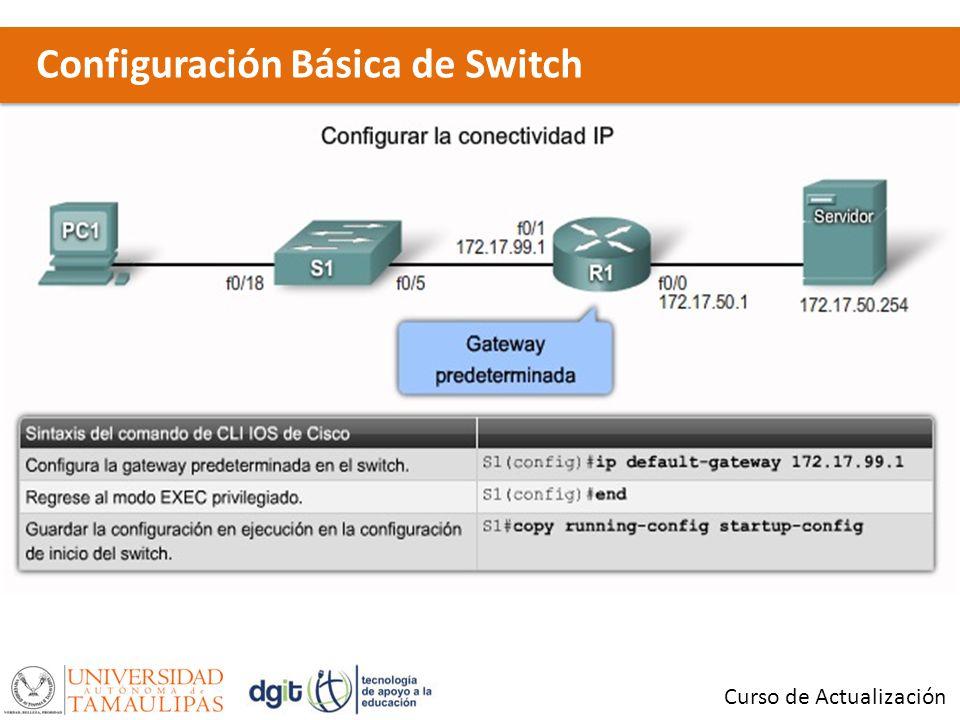 Configuración Básica de Switch Curso de Actualización x
