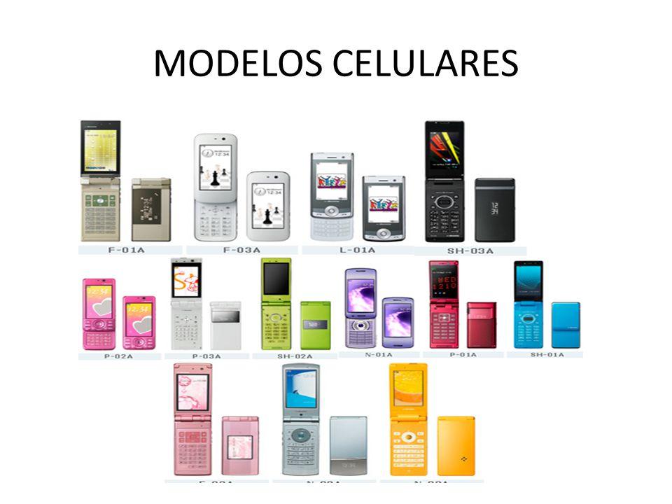 MODELOS CELULARES