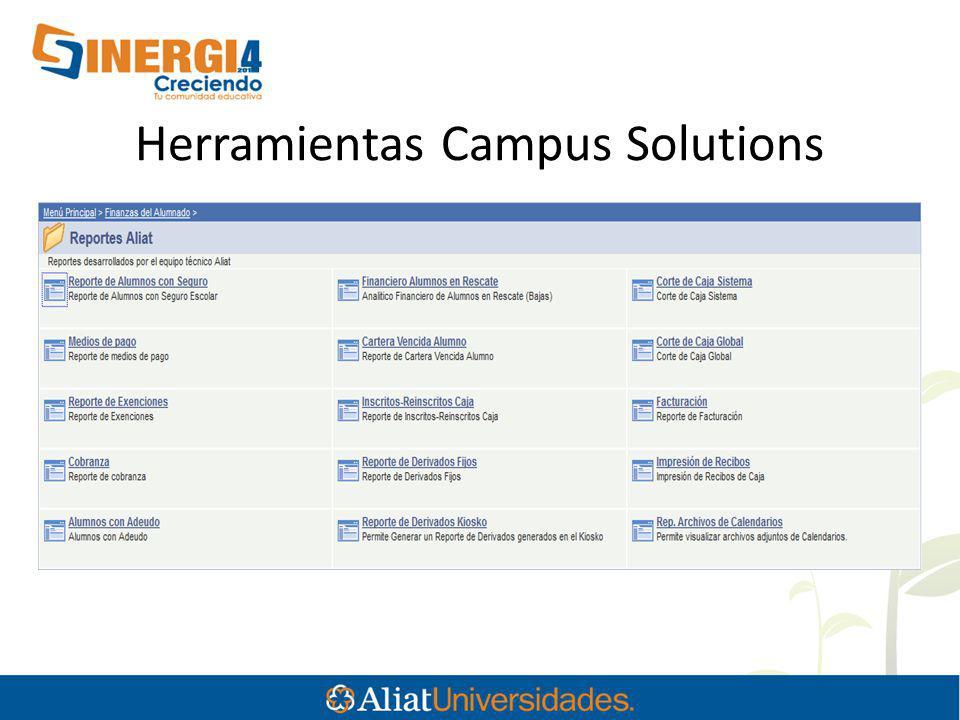 Herramientas Campus Solutions