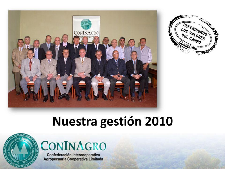 Nuestra gestión 2010