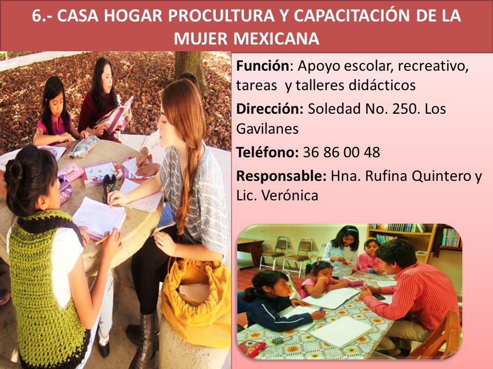 28.- ACORTAR DISTANCIA Función: Apoyo a talleres educación temprana y menores Dirección: Av.